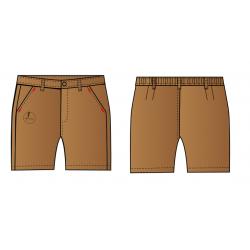 Pantalón corto de uniforme