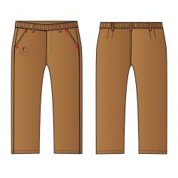 Pantalón largo de uniforme